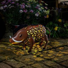 Solar Novelty Warthog Light