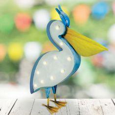 Solar Novelty Pelican Figure, 45cm