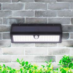 Solar Security Wall Light with PIR Sensor