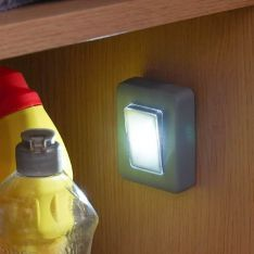 Battery Grey Light Switch Night Light
