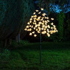 1.2m Outdoor Solar Magnolia Tree