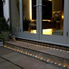 Connectable Warm White LED Rope Light