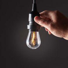 E27 Warm White Filament Style LED Festoon Bulb