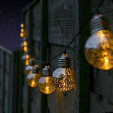 Solar Mercury Effect Festoon Lights