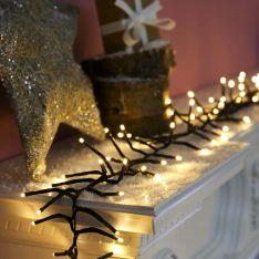 5m Christmas Tree Cluster Lights, 400 LEDs