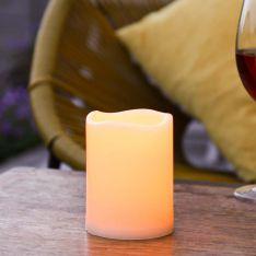 10cm Outdoor Flickering Candle