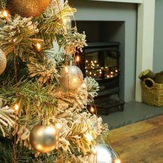 Christmas Tree Copper Firefly Multi Strand Branch Lights, Amber LEDs