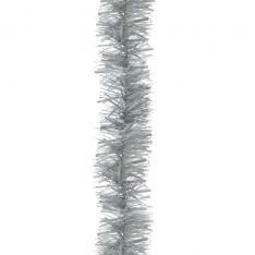 2m Matt Silver Tinsel Christmas Tree Decoration