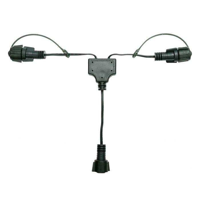 Y Connector, Green Cable