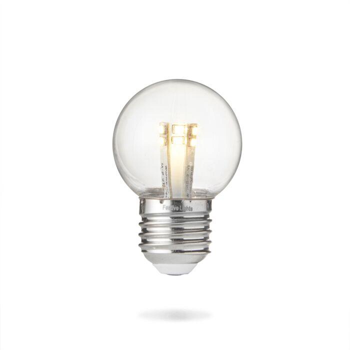 FestoonPro E27 LED High Power Coloured Festoon Bulb