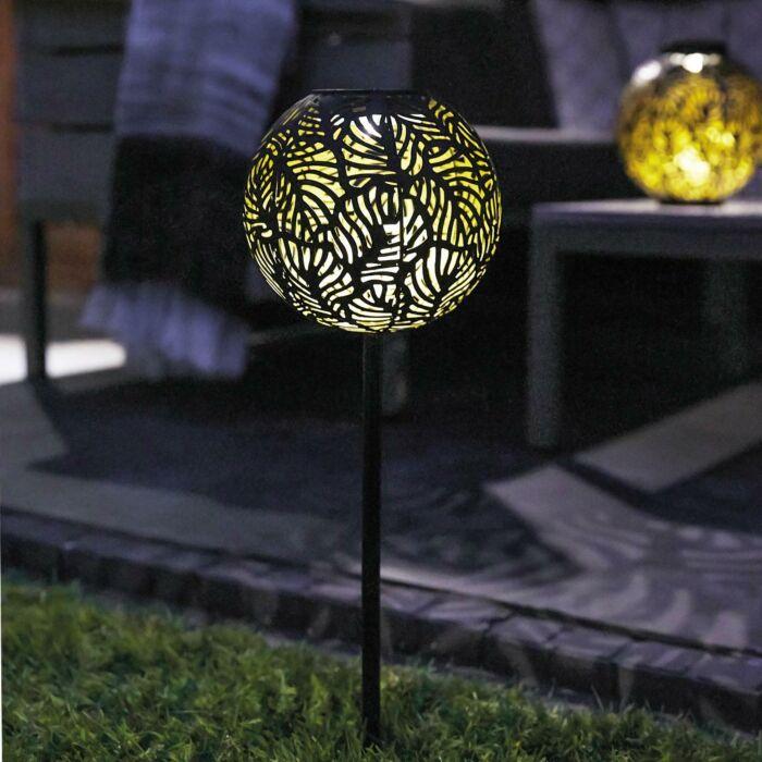 Solar Black Samba Stake Light