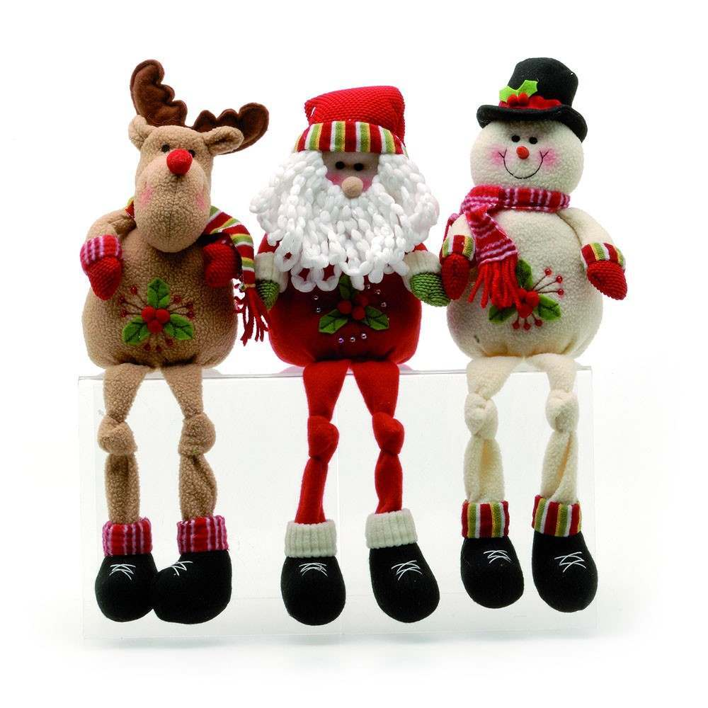42.5cm Snowman Christmas Figure Shelf Sitter