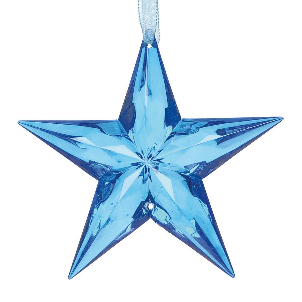 Click to view product details and reviews for 90mm Clear Crystal Star Trim Dark Blue.