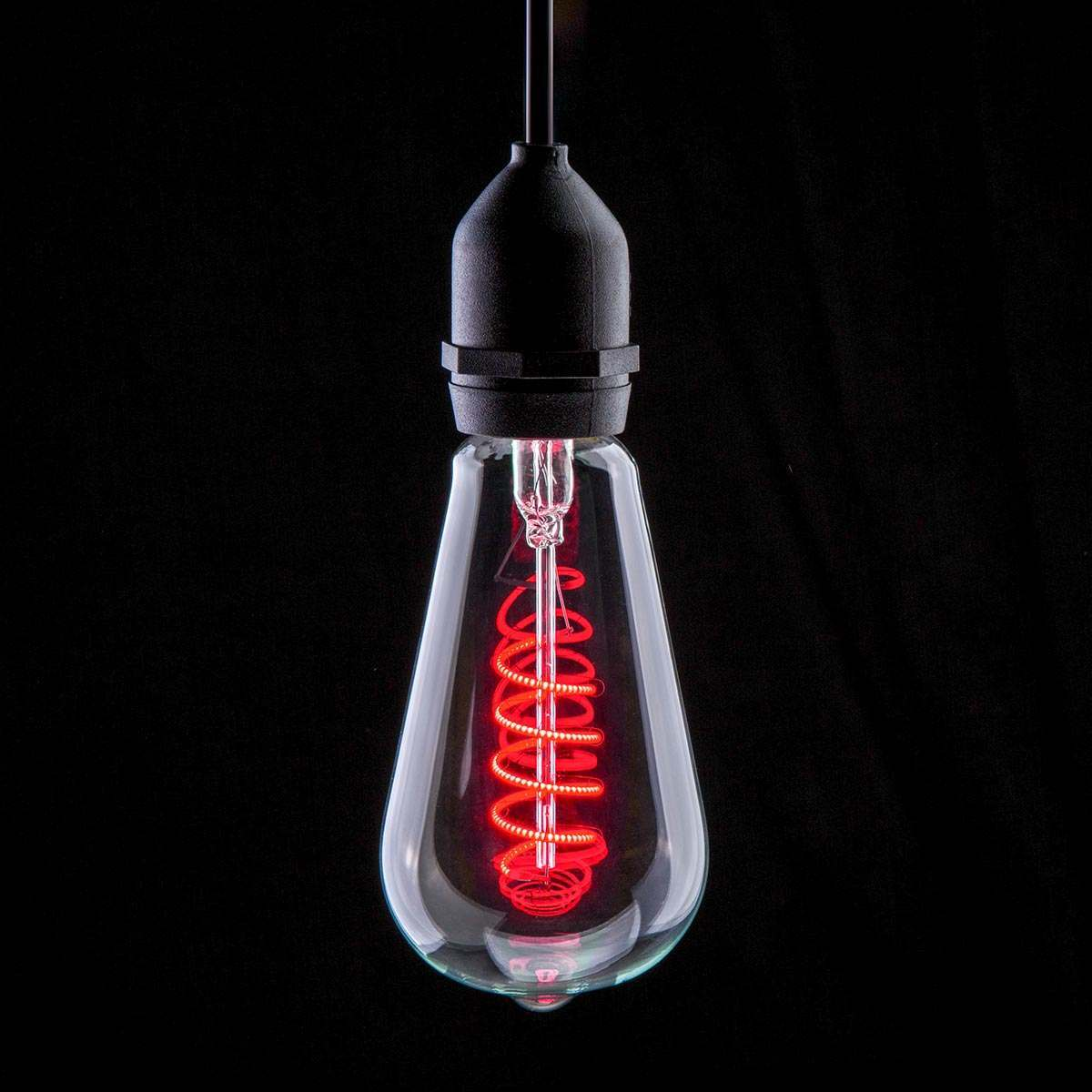 Click to view product details and reviews for 4w E27 Filament Style Red Led Light Bulb.