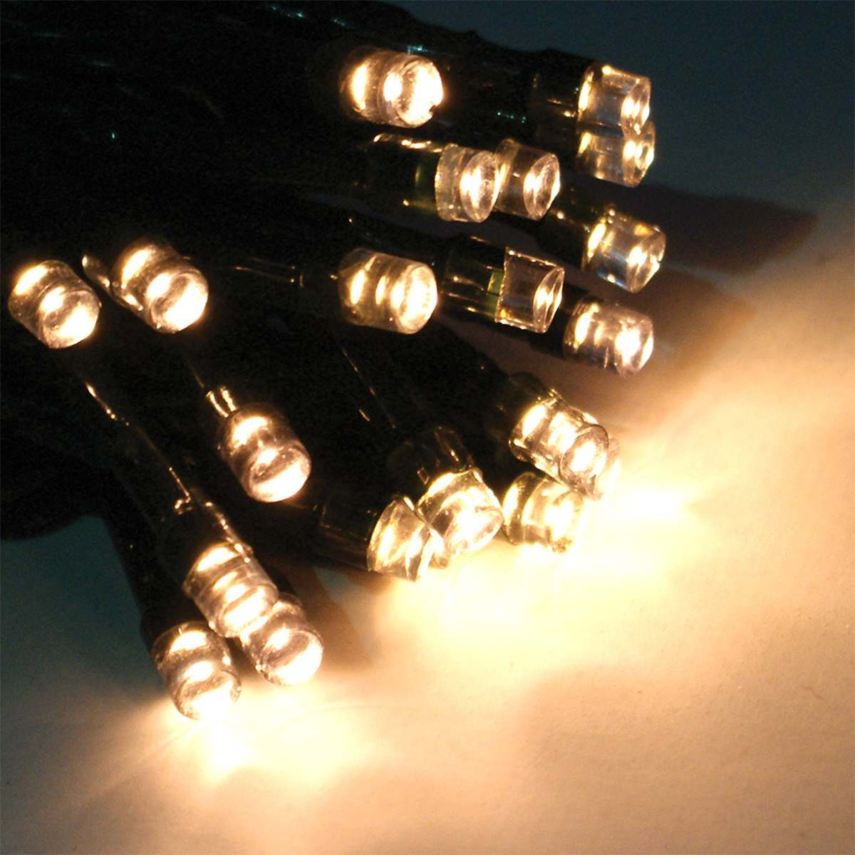 Click to view product details and reviews for 10m Warm White Christmas Fairy Lights Connectable 100 Leds Green Cable.