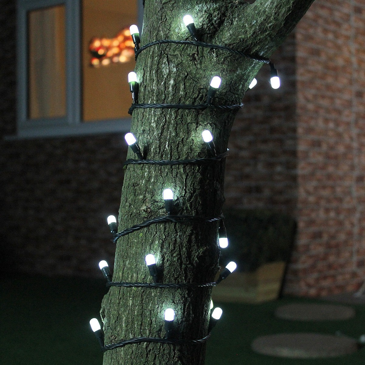 Click to view product details and reviews for 25m White Neon Glow Christmas Fairy Lights Connectable 250 Leds Green Cable.