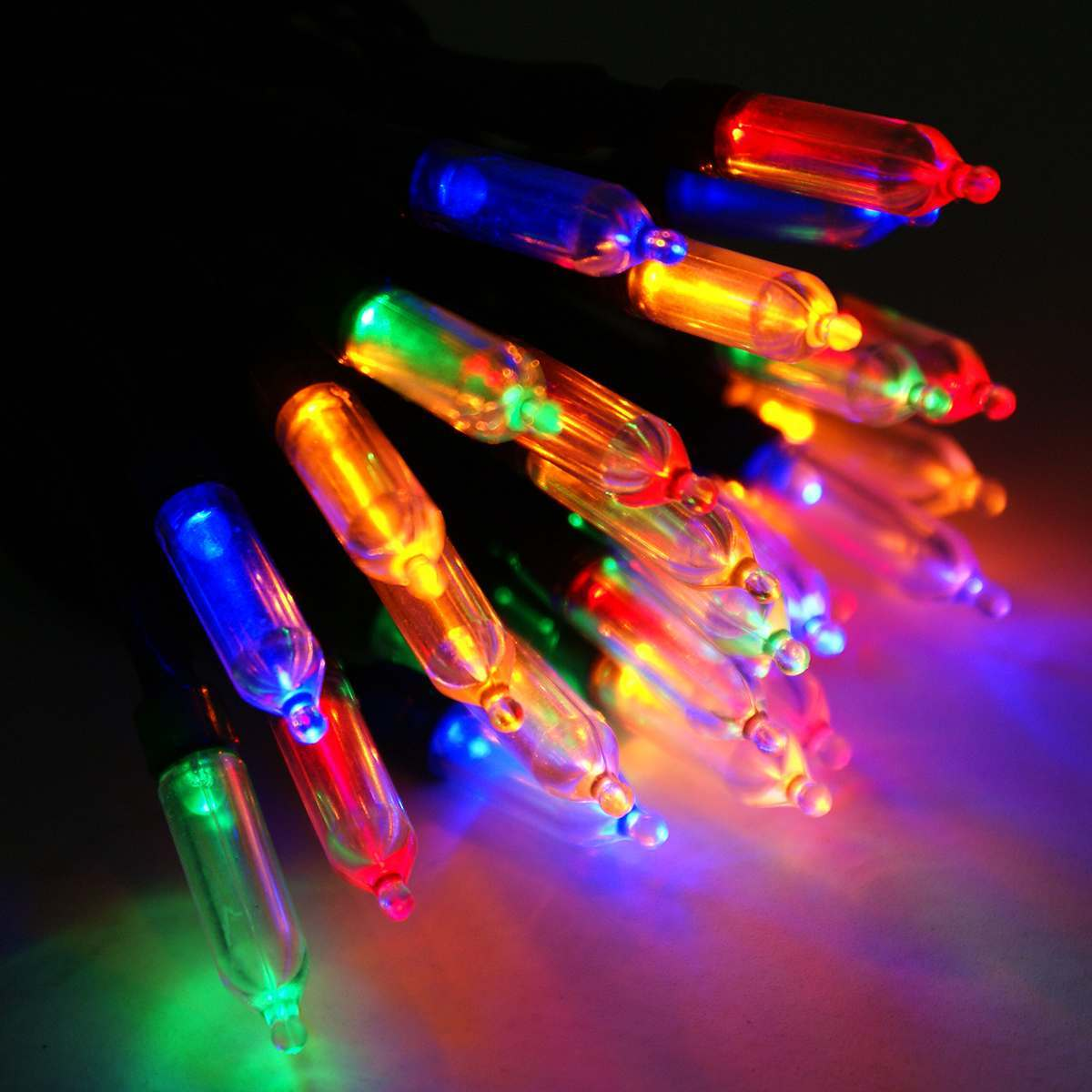 Click to view product details and reviews for 30m Traditional Christmas Fairy Lights Connectable 300 Multi Colour Leds Green Cable.