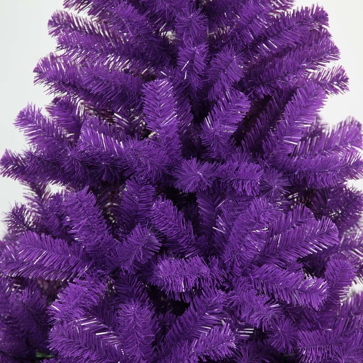 6ft Purple Artificial Tree