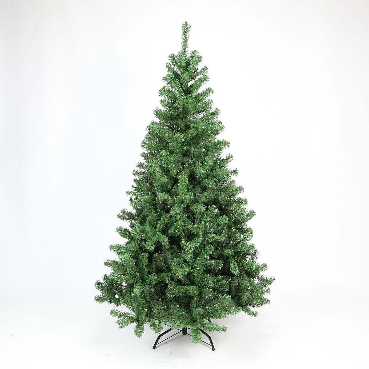 210cm Green Artificial Xmas Tree 1052 Tips