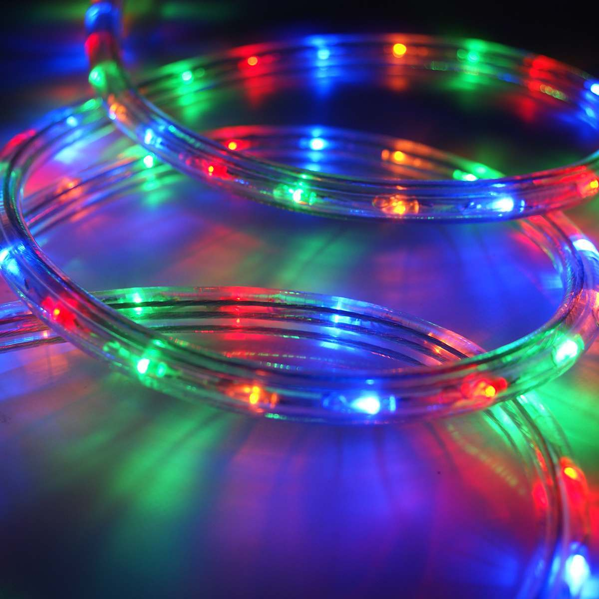 Click to view product details and reviews for 40m Multi Coloured Led Rope Light.