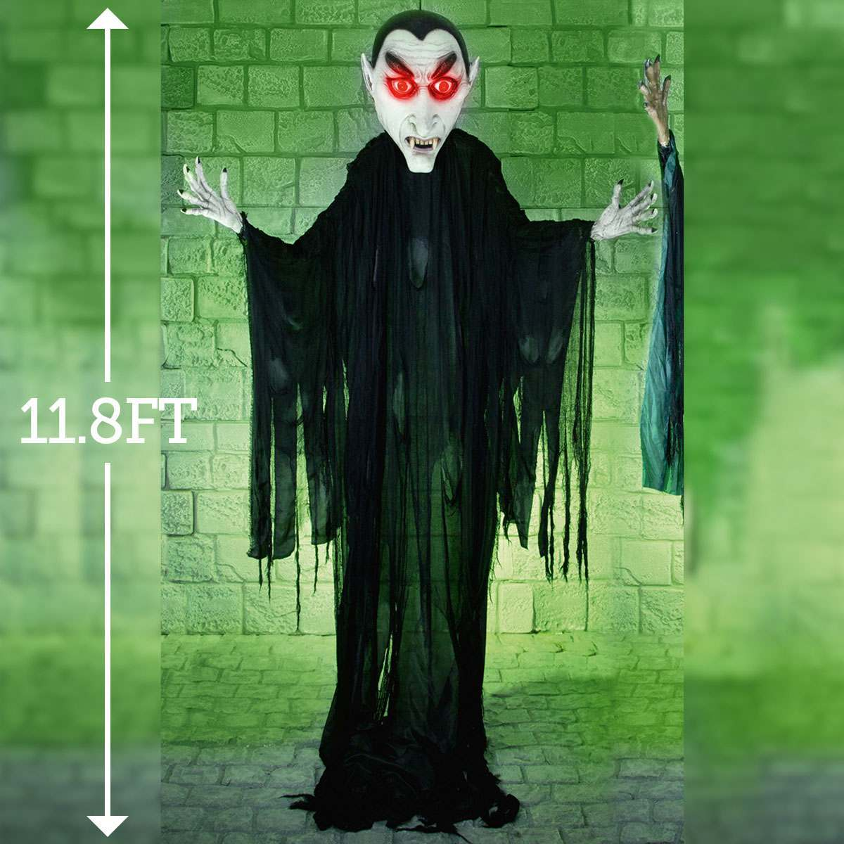 Click to view product details and reviews for Halloween Battery Light Up Vampire 36m.