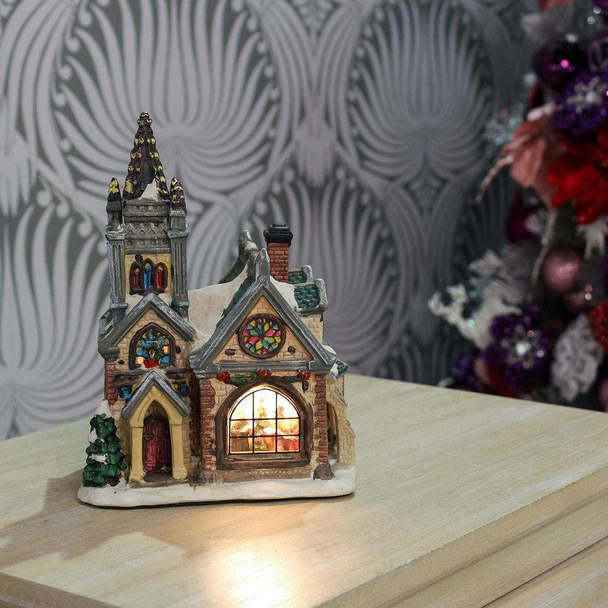 20cm Ceramic Church