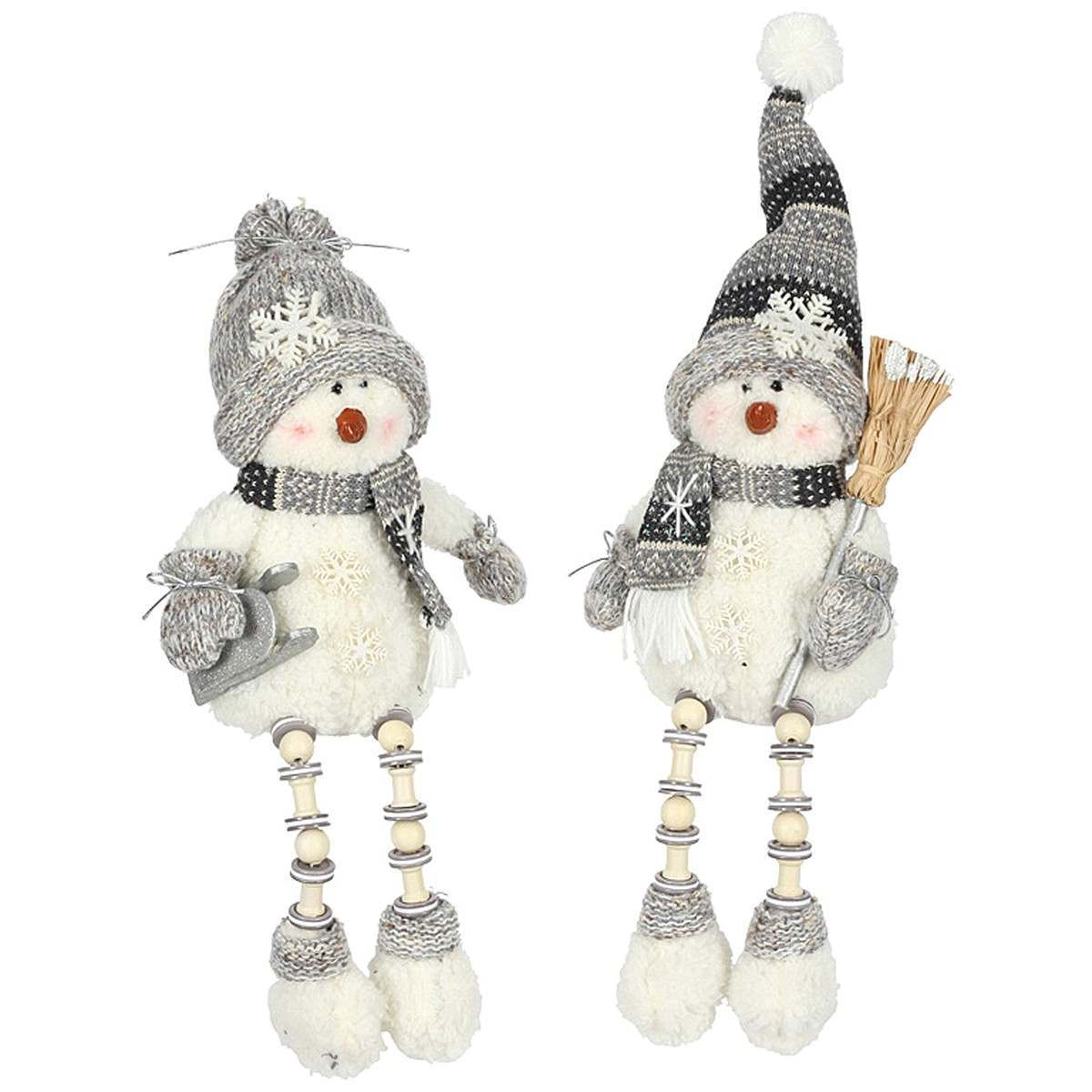 Click to view product details and reviews for Snowman Ornaments 35cm 2 Asstd Designs.