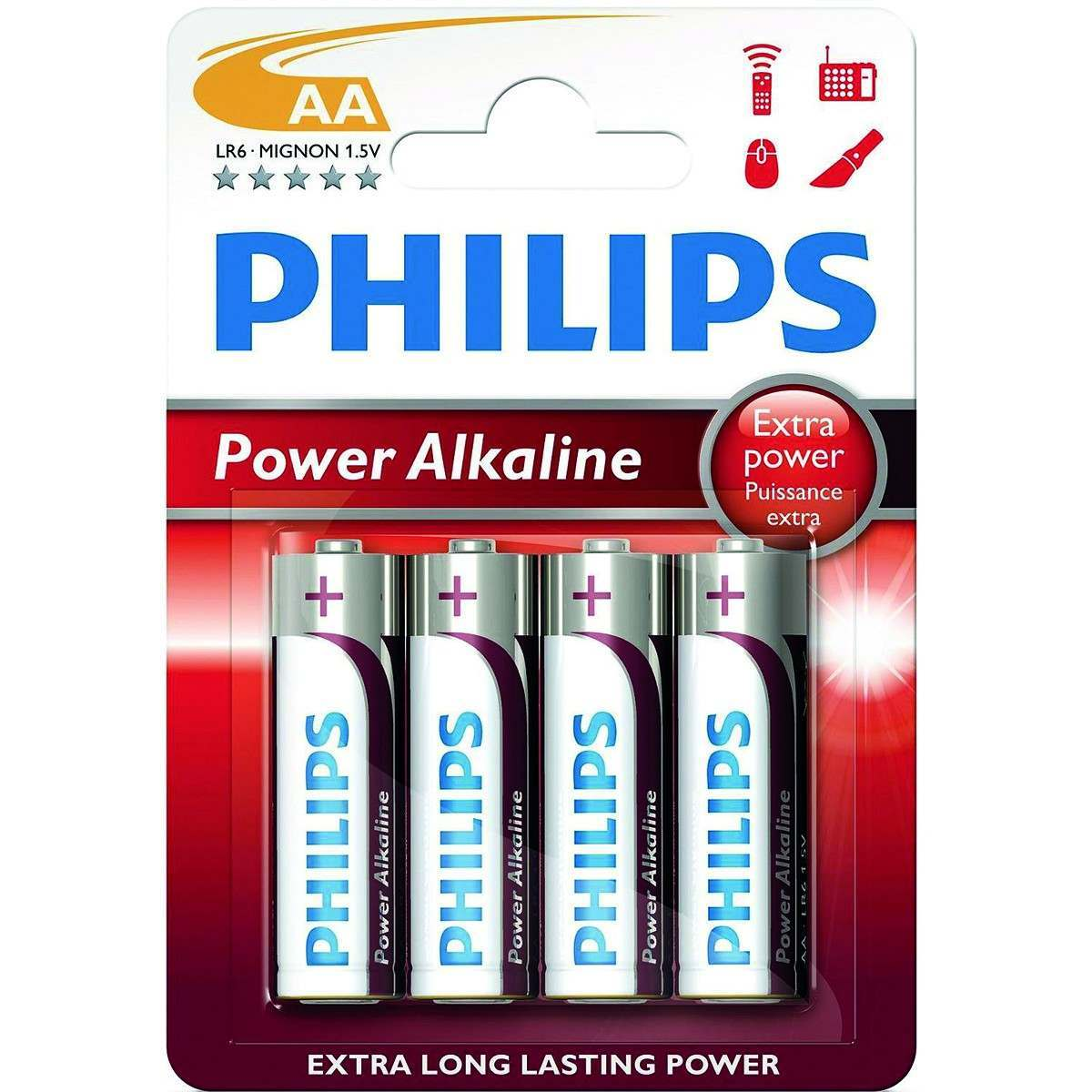 Click to view product details and reviews for Philips Power Alkaline Aa Batteries Pack Of 4.