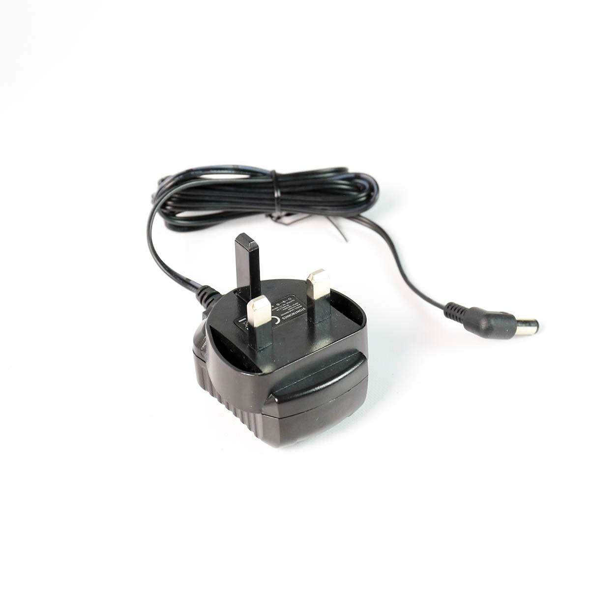 9V DC 500mA Mains Power Adaptor