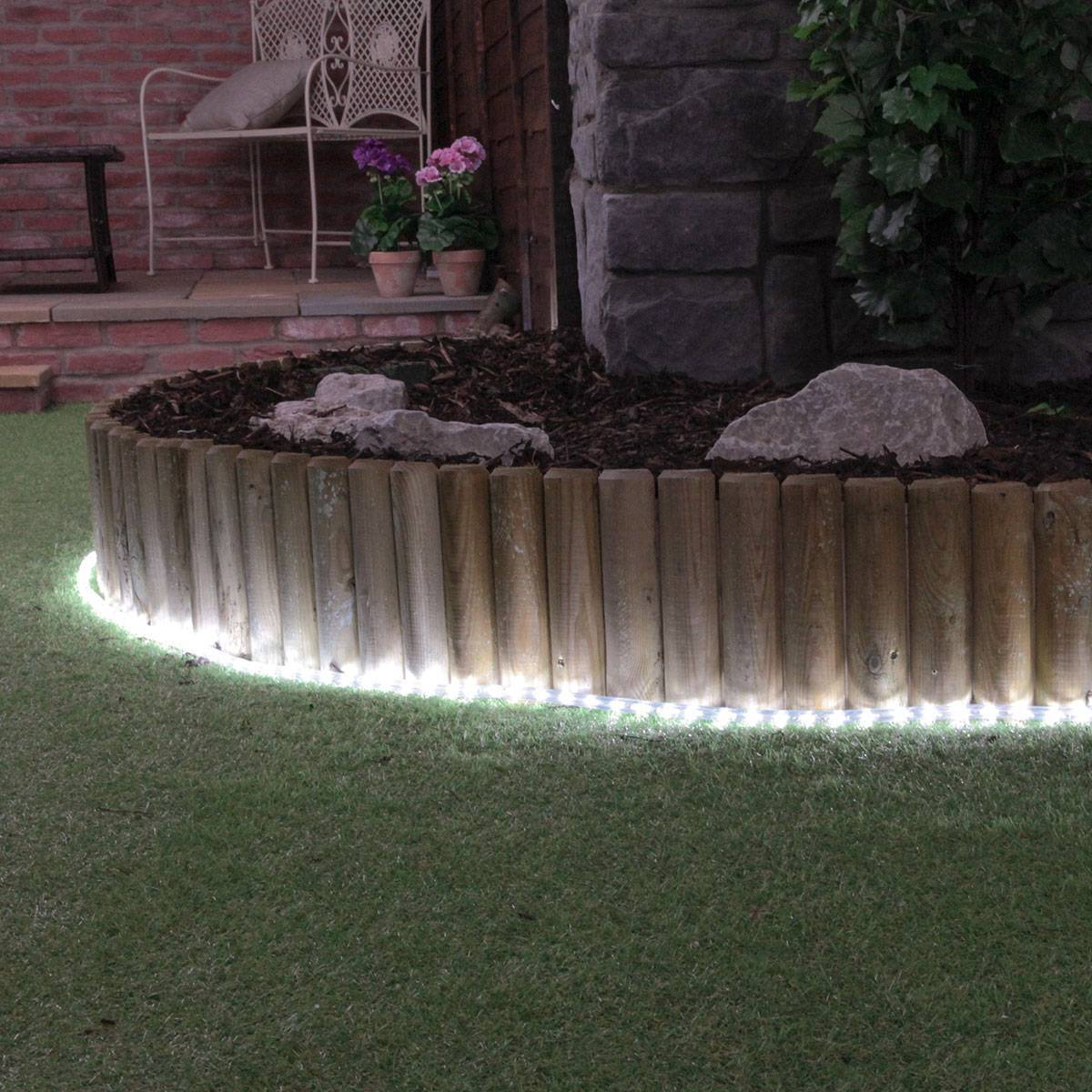 Click to view product details and reviews for 38m White Led Rope Light.