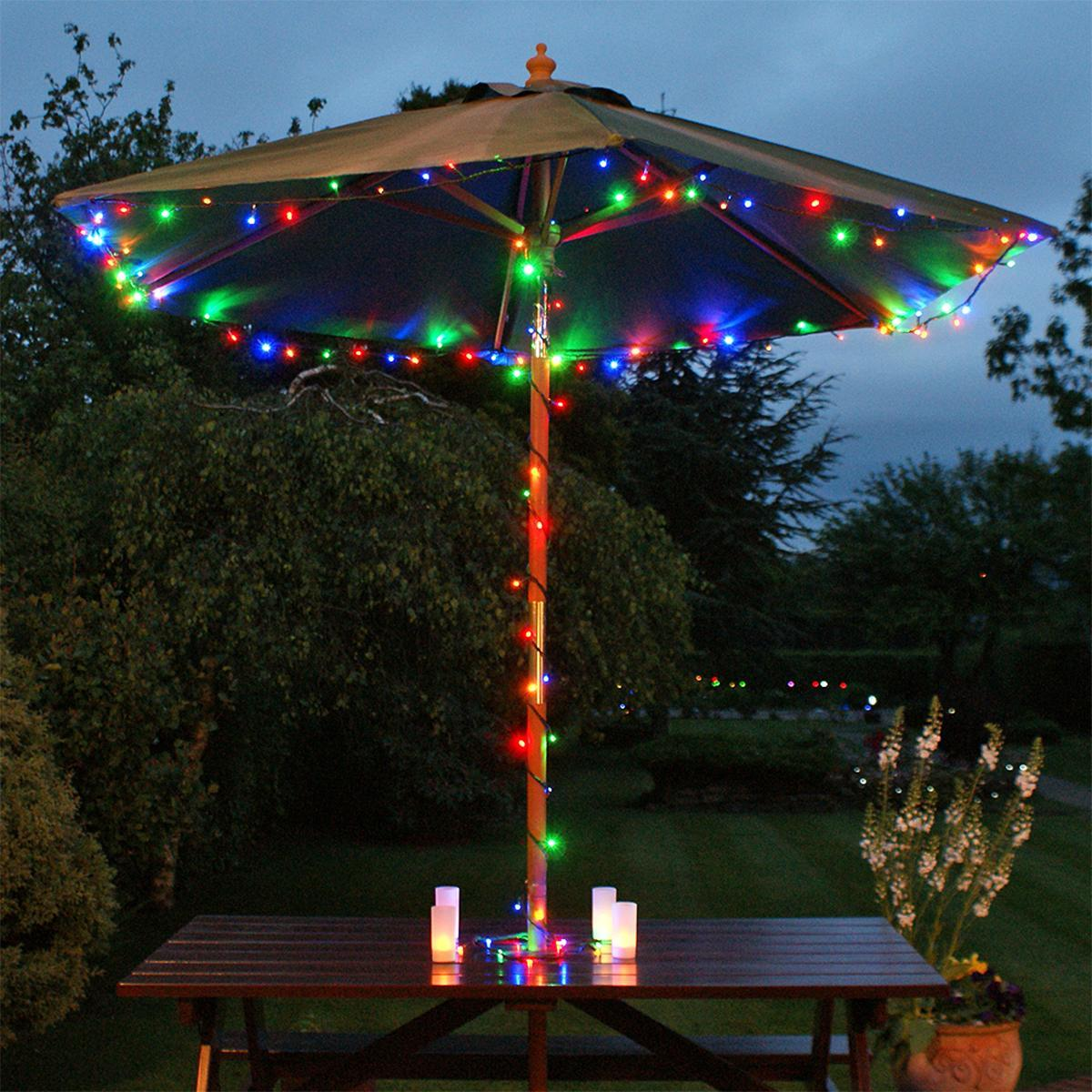 Solar Fairy Lights with Timer 100 LEDs 10m