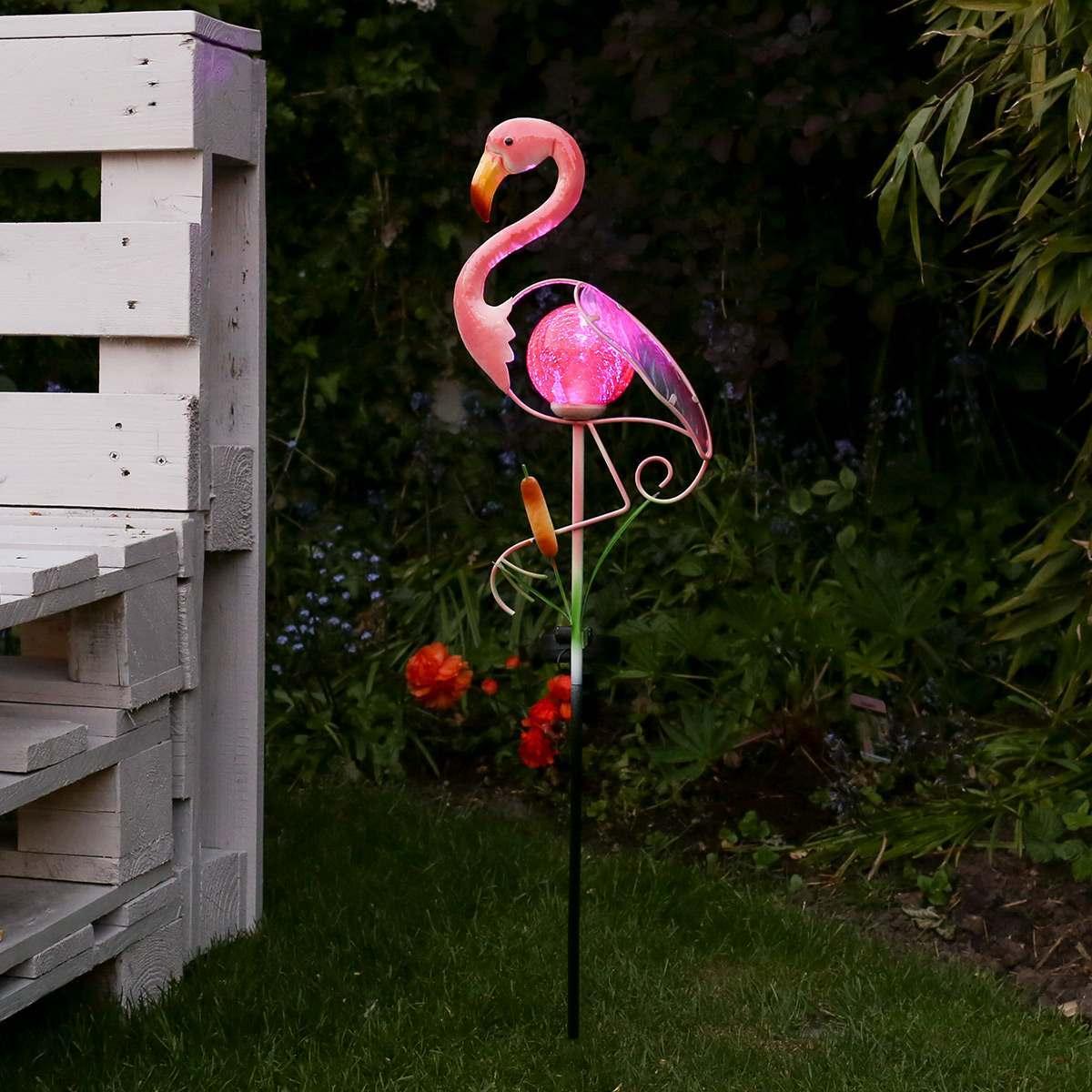 Flamingo Christmas Lights