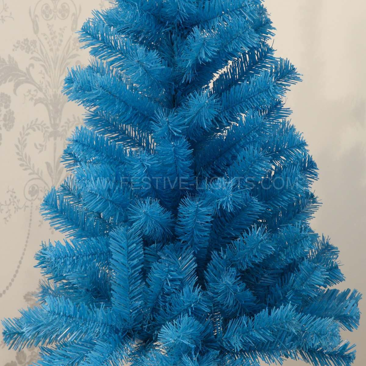 3FT Blue Artificial Christmas Tree
