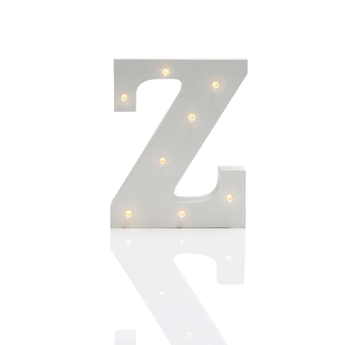 Click to view product details and reviews for Alphabet Z Marquee Battery Light Up Circus Letter Warm White Leds 16cm.