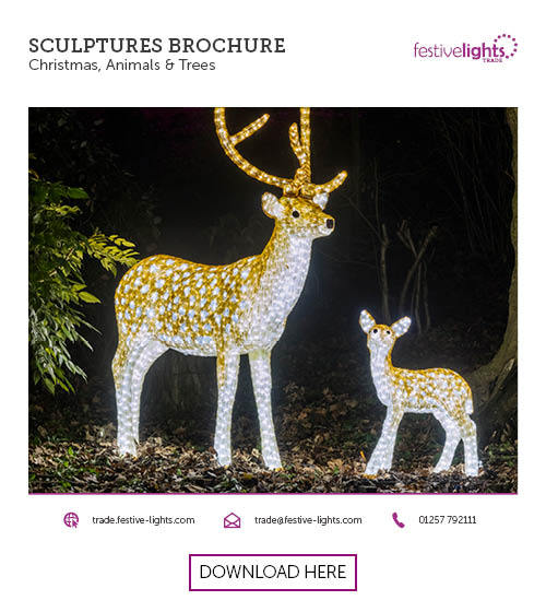 Festive Lights 3D Sculptures Brochure