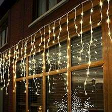 Low Voltage Connectable Icicle Lights