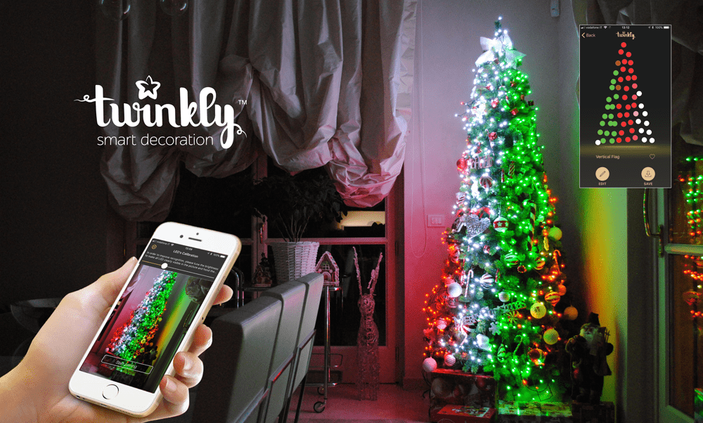 Twinkly App Controlled Lights