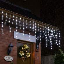 Outdoor christmas lights christmas lighting from 99p at festive christmas icicle lights aloadofball Images