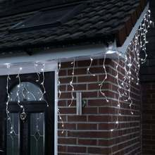 Snow Effect Christmas Icicle lights