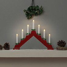 Christmas candle bridges