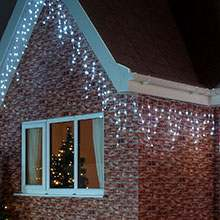 Christmas icicle lights buy stunning led icicle lights from festive white outdoor christmas fairy lights aloadofball