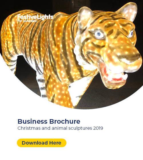 Festive Lights 3D Sculptures Brochure