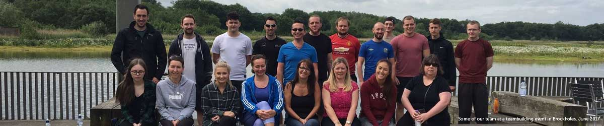 Festive Lights Teambuilding Brockholes June 2017