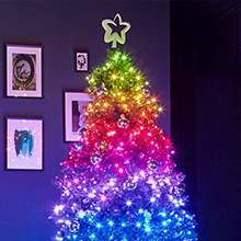 Twinkly Christmas tree lights