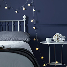 Bedroom Fairy Lights Feel Good Lighting At Festive Lights - Cheap bedroom fairy lights